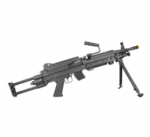 AIRSOFT ROSSI RIFLE LMG M249 LIGHT ELET 6MM