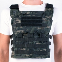 Colete Plate Carrier Couraça MULTICAN BLACK
