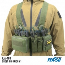 CHEST RIG ORION-V1 FJA-181 AIRSOFT COR VERDE