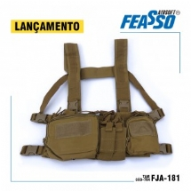 CHEST RIG ORION-V1 FJA-181 AIRSOFT COR AREIA