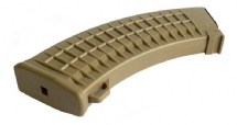 Magazine Mid Cap para Rifle de Airsoft AK TAN