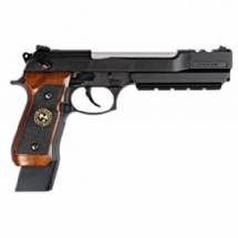 WE GBB M92-Ser 2058 BioHazard Extended Semi. Brown